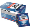 Wipe, lint-free presaturated pad, plastic safe, fast dry, non-abrasive -- 70125735
