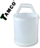 4 Gallon Polypropylene Acid Bucket -- 13005