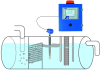 Oil/Water Separator Level Monitor -- 4100-OWS -Image