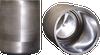 Pressed-Sintered Molybdenum and Tungsten Crucibles