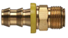 Brass Push-on Fitting - Male Inverted Flare -Image
