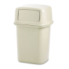 Ranger Fire-Safe Container, Square, Structural Foam, 45 gal, -- 917100