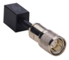 Specialty Twinax Balun, Twinax Male to Twisted Pair/RJ-45 Female with 1