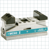 Self-Centering Vises -- MCZ Series Mini-Clamp Manual Self-Center