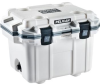 Pelican 30 Qt Elite Cooler - White with Gray Trim   SPECIAL PRICE IN CART -- PEL-30Q-1-WHTGRY -Image