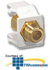 Leviton Gold Plated F-Type Adapter -- AC831-0B