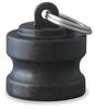 Dust Plug,1 1/2 In,Poly,EPDM Gasket -- 1DPN3 - Image