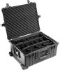 Pelican 1610 Case with Padded Dividers - Black | SPECIAL PRICE IN CART -- PEL-1610-024-110 - Image
