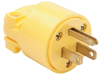 Pass & Seymour® -- Medium-Duty Plug, Yellow - 4867Y - Image