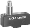 MICRO SWITCH YA Series Standard Basic Switch, Single Pole Normally Open Circuitry, 20 A at 250 Vac, High Overtravel Plunger Actuator, 3,89 N to 6,12 N [14.0 oz to 22.0 oz] Operating Force, Silver Cont -- YA-2RQ1243-D6 -Image