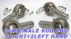 4 Male Rod End 25mm POS25 2 Right and 2 Left Hand -- Kit7382