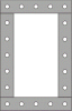 OEM Vulcanized Custom Gaskets -- Style 1301
