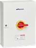 UL98 Motor Disconnect Switch, Sheet Metal Enclosure -- KET3100UL98 Y/R -Image