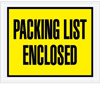 Full Face Packing List Envelope
