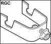 Miscellaneous Electrical Fixings, Fasteners and Supports -- CADDY® Signal Reference Grid Wire Clamp