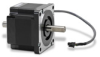 STEPPER MOTOR NEMA 34 DOUBLE SHAFT 434 oz-in BIPOLAR W/1ft CABLE -- STP-MTR-34066D