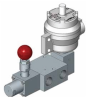 Pilot Solenoid Operated Reverse Latch Lock Manual Reset Spool Valves, 1600 Series -Image
