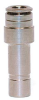 Nickel-Plated Brass Push-In Fittings -- 6800 02-04 - Image