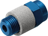 GRE-1/2-NPT Exhaust air flow control valve -- 10059 - Image