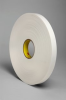 3M 4108 White Single Sided Foam Tape - 1 in Width x 36 yd Length - 1/8 in Thick - 03408 -- 021200-03408 -- View Larger Image