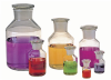Wide Mouth Clear Glass Reagent Bottles -- 216020
