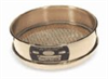 Cole-Parmer Sieve with NIST-Traceable Calibration Report, Brass Frame/Brass Wire, 8