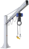 Complete jib crane for incl. chain hoist and plug fixation CSKS-SCH-500-3000-SRA180-2600-EL -- 14.05.01.00379 -Image