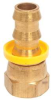 Hose Fitting,Brass,1/2 In Hose ID -- 3DVC1