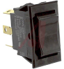 Switch, COMBI-Terminal, Rocker, DPDT, ON-OFF-(ON) -- 70132032 - Image
