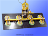 Eight Pad Electric Powered Vacuum Lifter with Powered Tilt -- ET120M8-86-4/22FX - Image