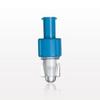 Tuohy Borst Adapter with Blue Female Luer Lock Cap -- 80411 -Image