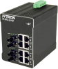 710FX2 HV Managed Industrial Ethernet Switch, ST 2km -- 710FX2-ST-HV -Image