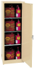 Flammable Liquid Safety Storage Self-Close Cabinet -- CAB137-BEIGE