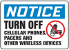 Notice: Turn Off Cellular Phone, Pagers, -- GO-60710-12