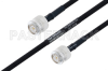 MIL-DTL-17 TNC Male to TNC Male Cable 48 Inch Length Using M17/84-RG223 Coax -- PE3M0056-48 -Image