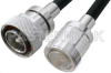 7/16 DIN Male to 7/16 DIN Female Cable 48 Inch Length Using PE-C400 Coax -- PE37962-48 - Image