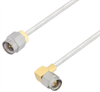 SMA Male to SMA Male Right Angle Cable Assembly using LC085TB Coax, 4 FT -- LCCA30112-FT4 -Image