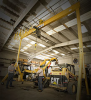 A Series Gantry Crane -- 1F1510WOB -- View Larger Image