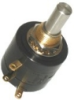 73 Series Precision Potentiometer, Wire Wound Element, Solder lug Terminals, 2 W Power Rating, 50 kOhm Resistance Value -- 73JB50K