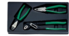 6705 - Set with 3 pliers, polished -- 96650007