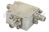 Circulator With 18 dB Isolation From 4 GHz to 8 GHz, 10 Watts And SMA Female -- PE8402 - Image