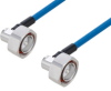Plenum 7/16 DIN Male Right Angle to 7/16 DIN Male Right Angle Low PIM Cable 24 Inch Length Using SPP-250-LLPL Using Times Microwave Parts -- PE3C6189-24 -Image