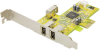 3-Port FireWire 1394a PCI Express (x1) Card -- PEFW310