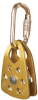 Protecta PRO Anodized and Zinc Yellow Pulley - 648250-11022 -- 648250-11022