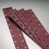 Stick-On - Premier Red Zirconia Alumina Paper Open Vacuum -- File Strips