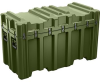 Pelican AL5424-2306 Single Lid Trunk Shipping Case with Foam and Casters - Olive Drab -- PEL-AL5424-2306RPFC137 -Image