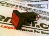 FUSE HOLDER SNAP MOUNT 15AMP 250V RED/BLACK -- 348671 - Image