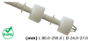 LS04 Liquid Level Sensors -- LS04-1A66-5-500W