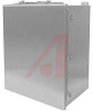 Enclosure; Stainless Steel; 4 in.; 3 in.; 4 in.; Bracket; White; Type 4X -- 70164077