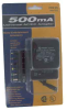 500mA CSA UL AC Adapter with Detach Plugs Universal AC-DC Converter -- 900-052